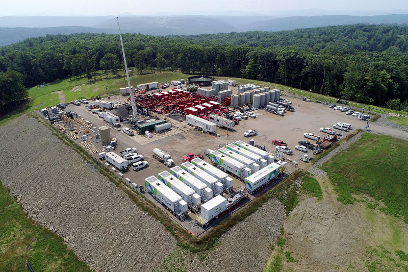 Halliburton & VoltaGrid Reduces Emissions for Chesapeake Energy