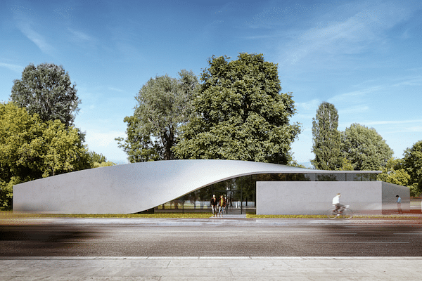 Cube in Germany to be Carbon Concrete Building without Steel