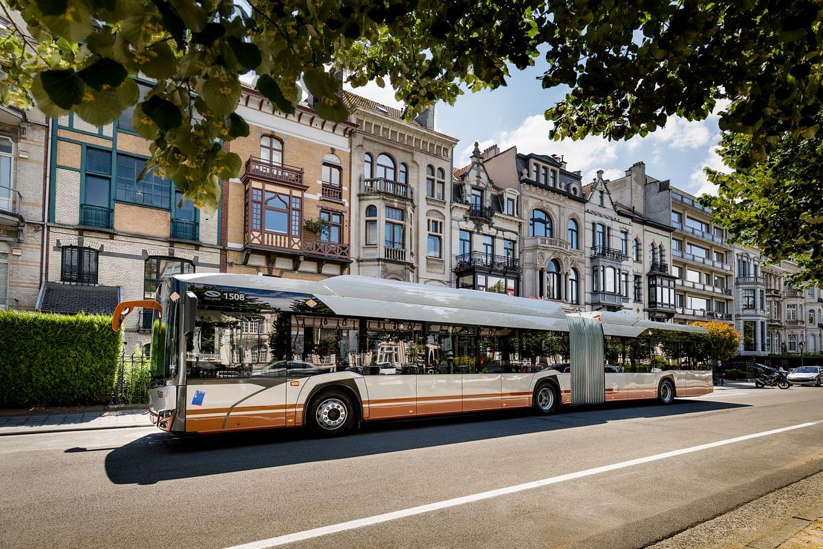 Danish Aarhus Opperating Solaris e-Buses