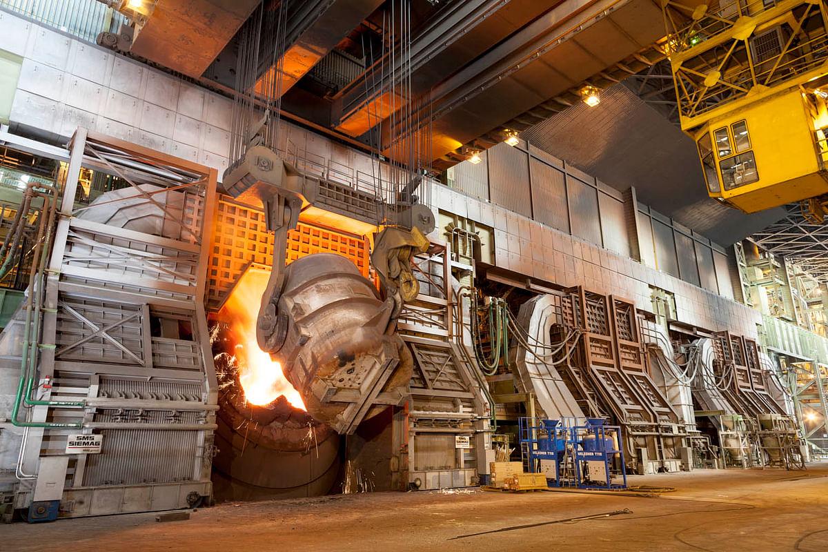 US Steel Production Capacity Utilization Slips in Week 32