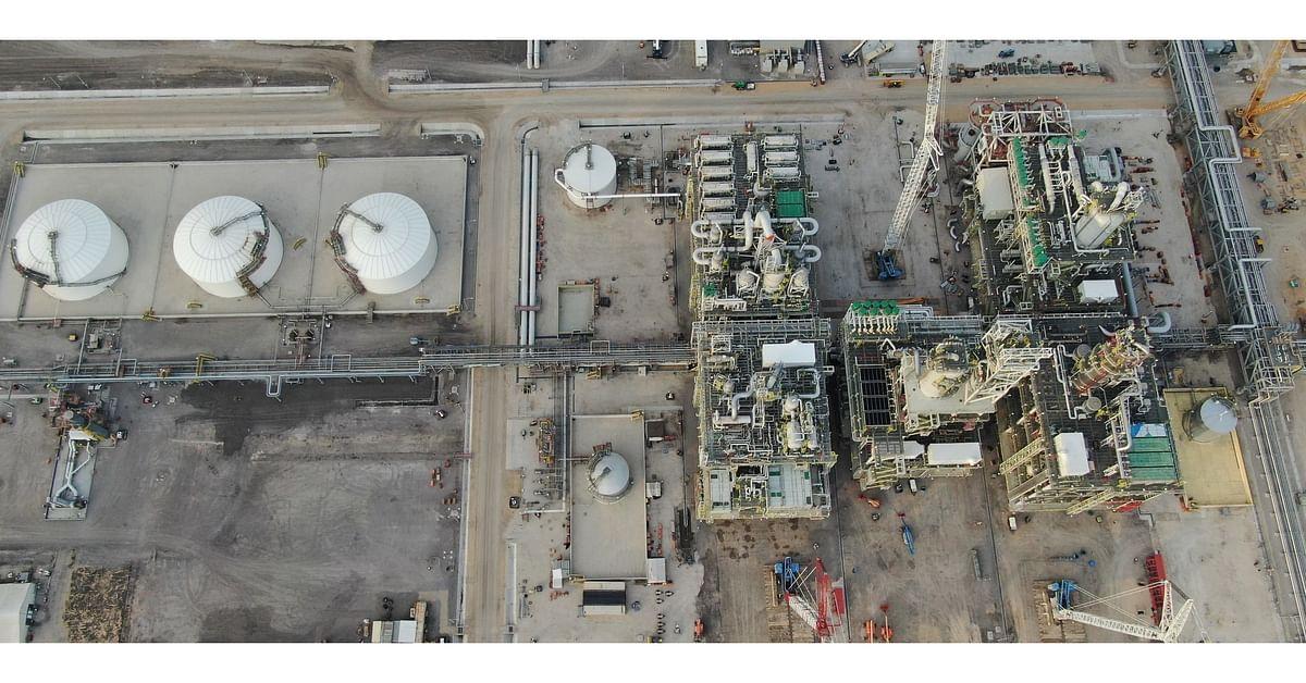 GCGV Mono-Ethylene Glycol Facility Achieves Mechanical Completion