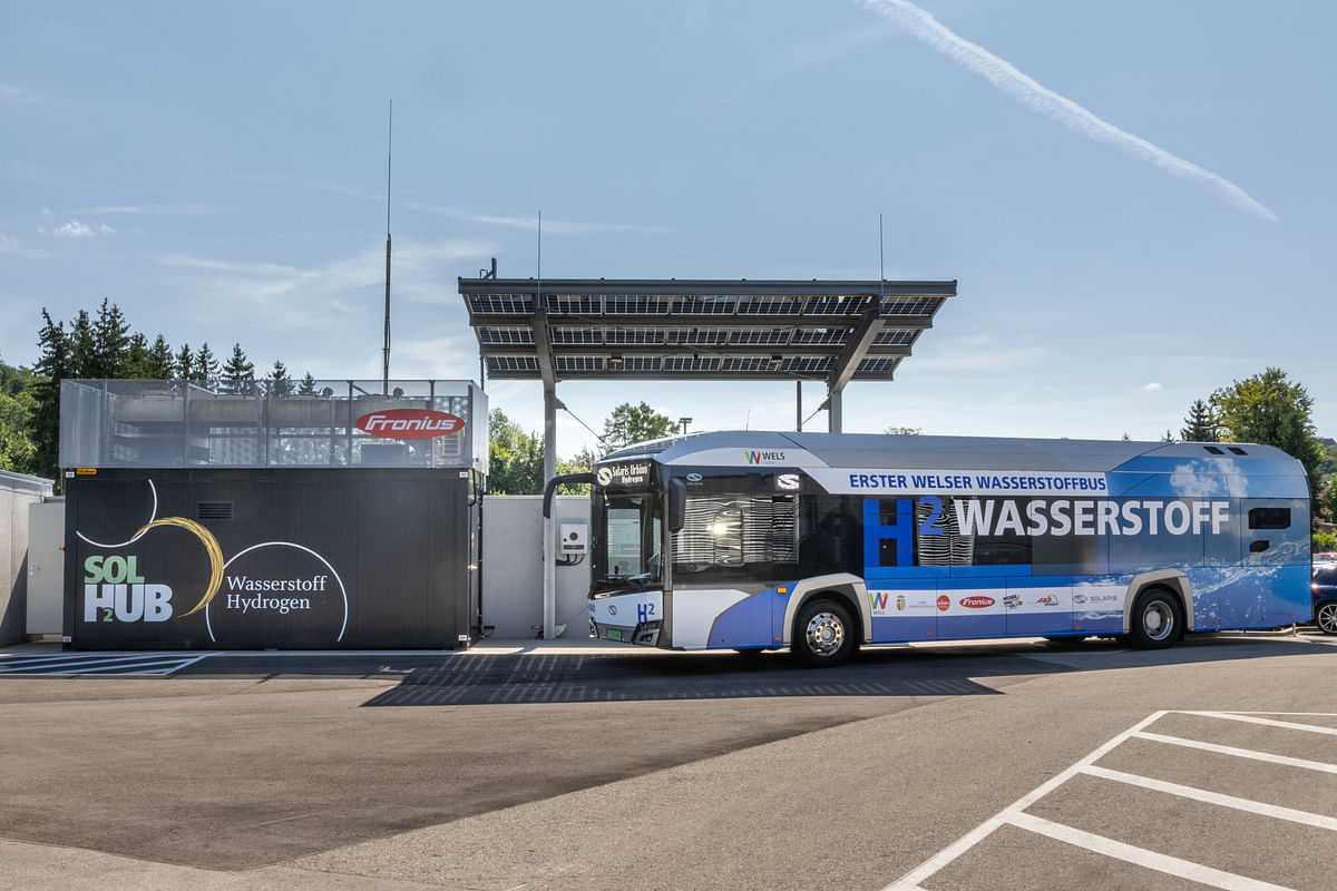 Upper Austria Testing Solaris Hydrogen Bus