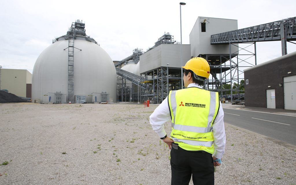 Drax & MHI to Deliver Carbon Capture Power Project
