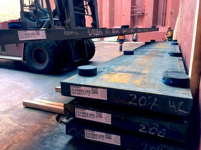 Ruscon Introduces Polymer Dunnage for Steel Shipments