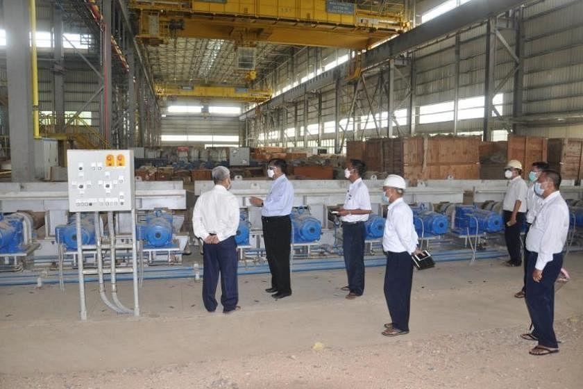 Myanmar Junta to Reopen Myungyan Based Steel Mill