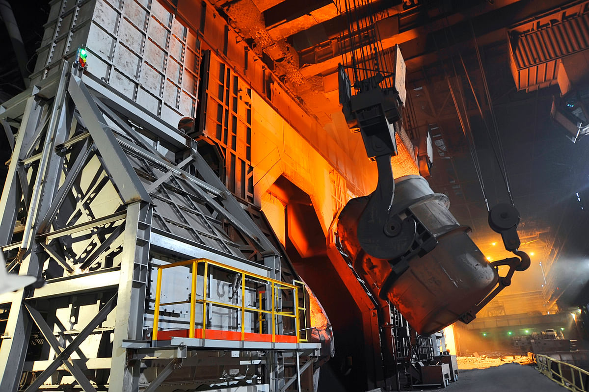 Severstal Increases CherMK Converter Steel Production