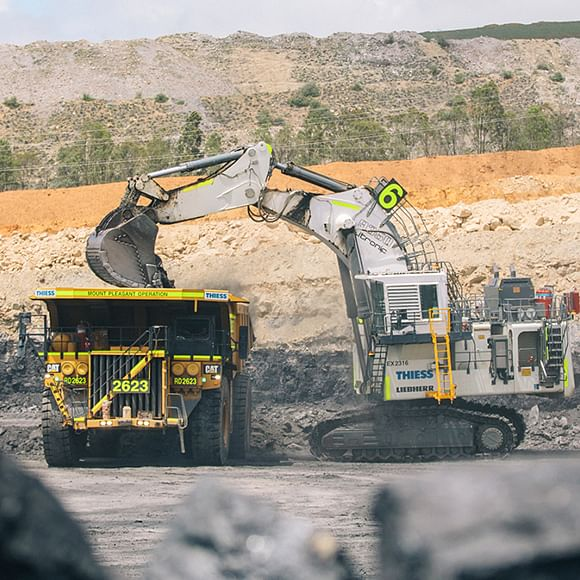 Thiess Awarded Mount Pleasant Contract Extension