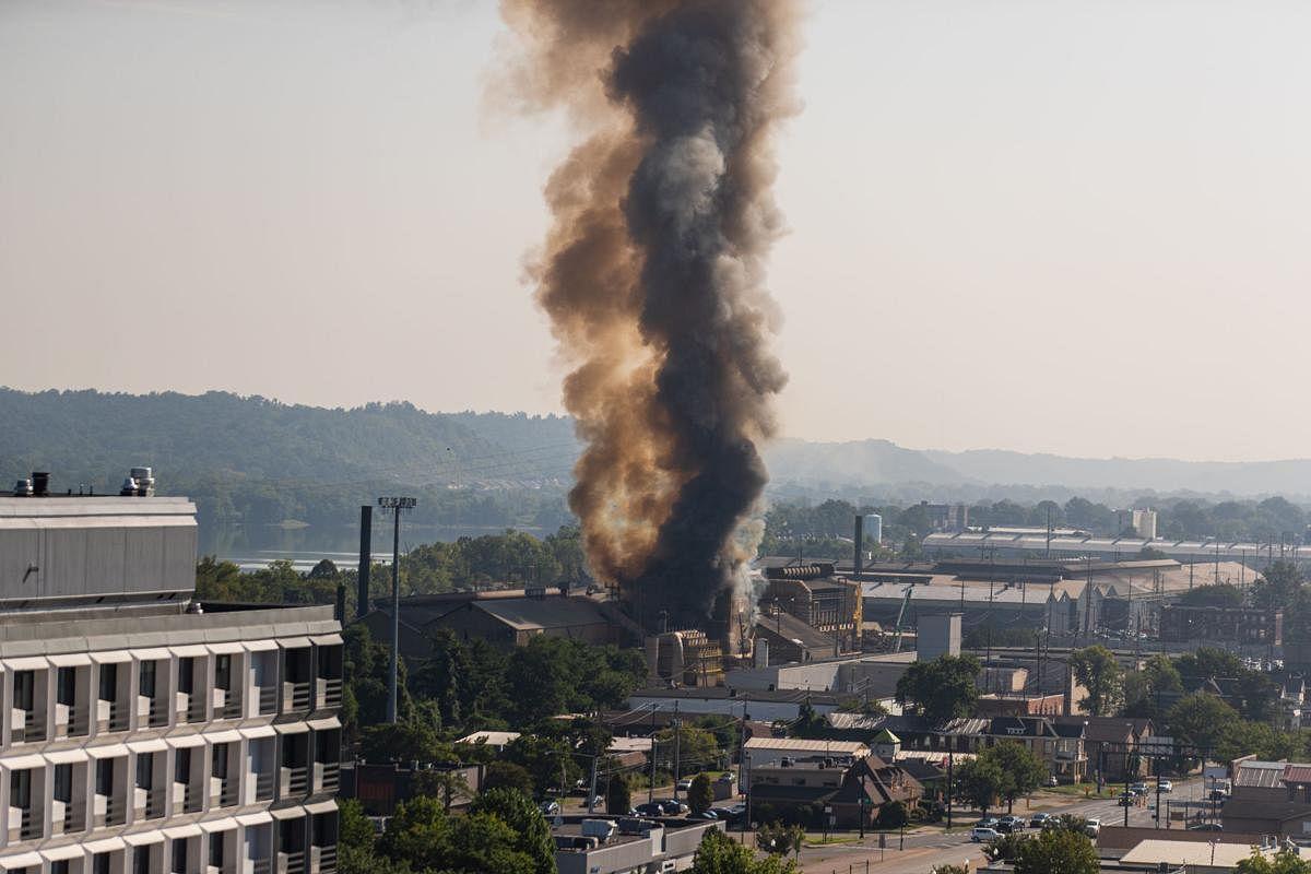 One Injured in Molten Steel Spill at Steel of West Virginia