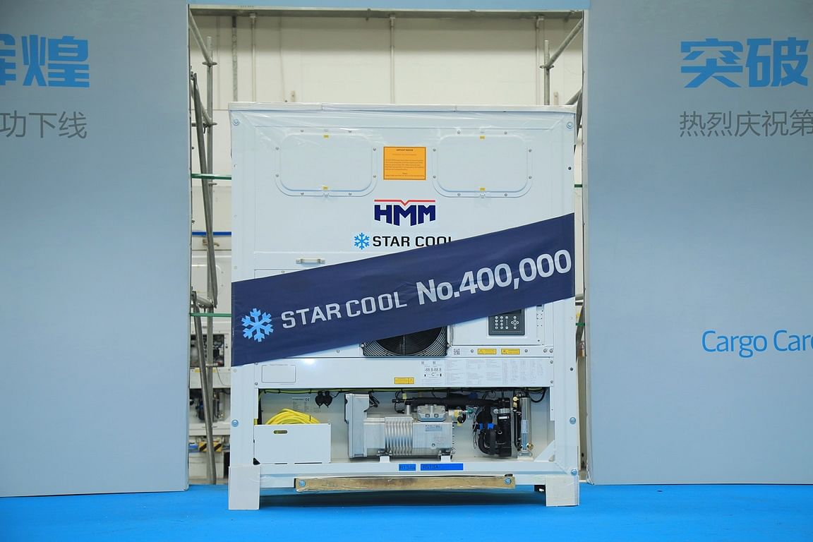 Maersk Container Industry Produces Star Cool Unit No 400,000