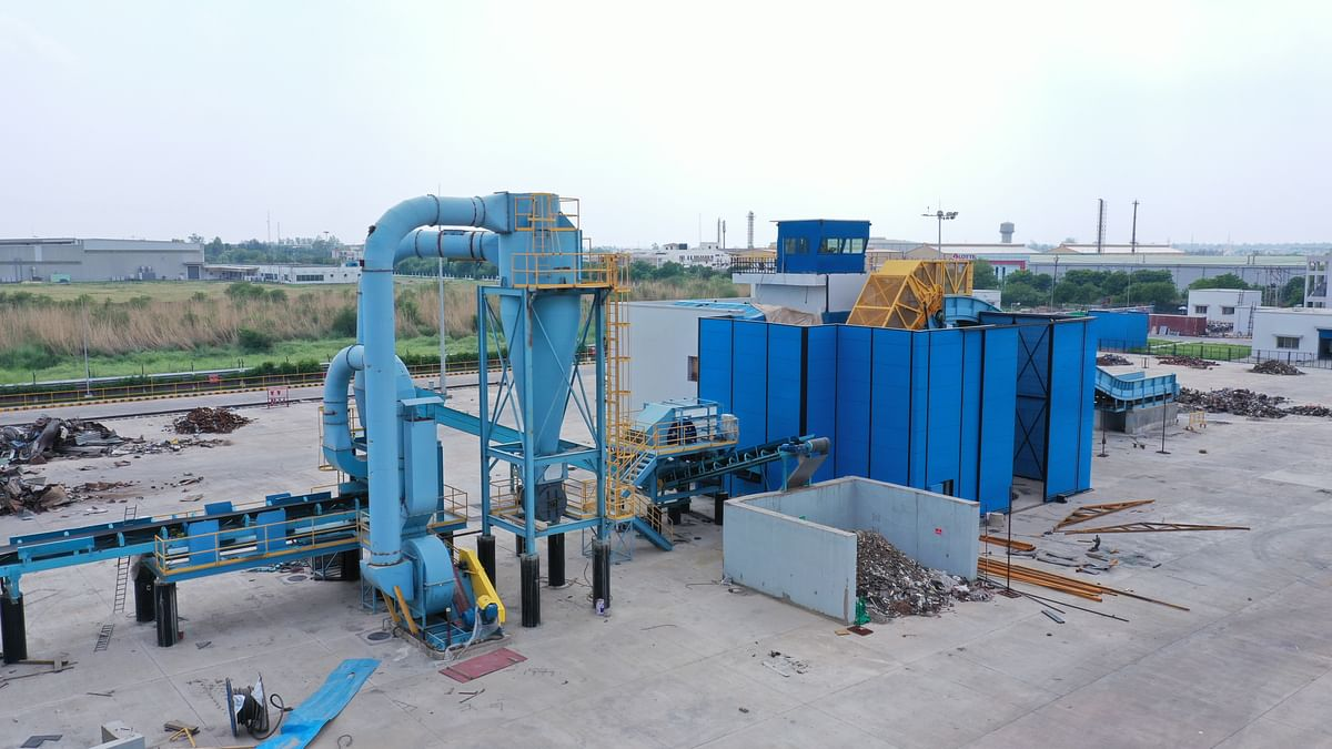 Tata Steel Commissions Modern Steel Recycling Plant in Rohtak