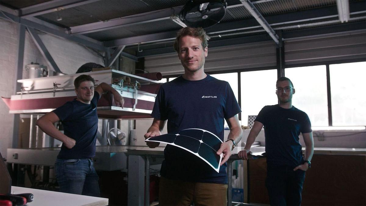 Wattlab Installs Solar Panels forInland Shipping at Rotterdam Port