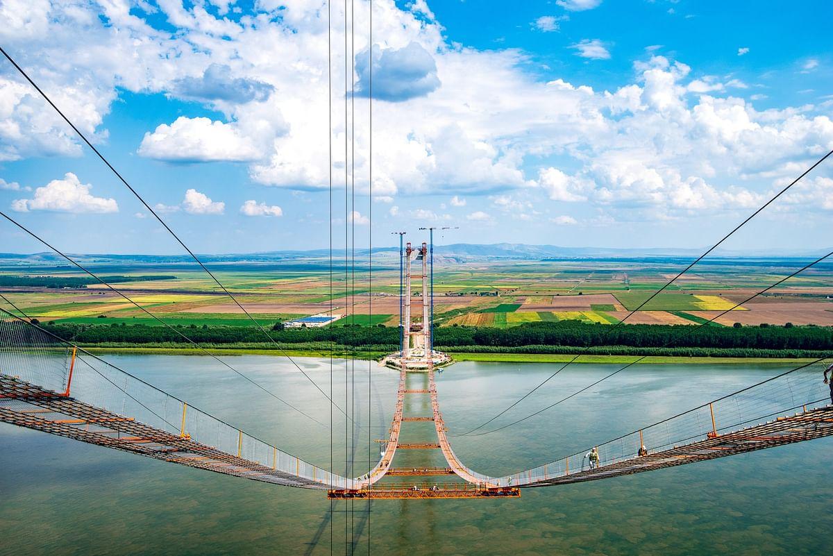 Romanian Braila Bridge Now 55% Completed