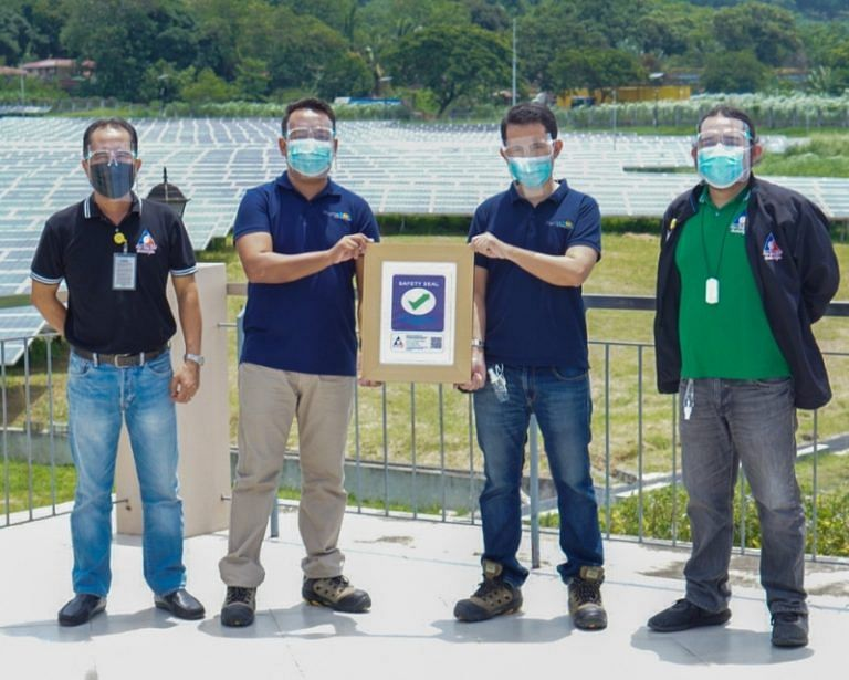 AC Energy's MonteSol Receives DOLE Safety Seal Certificate