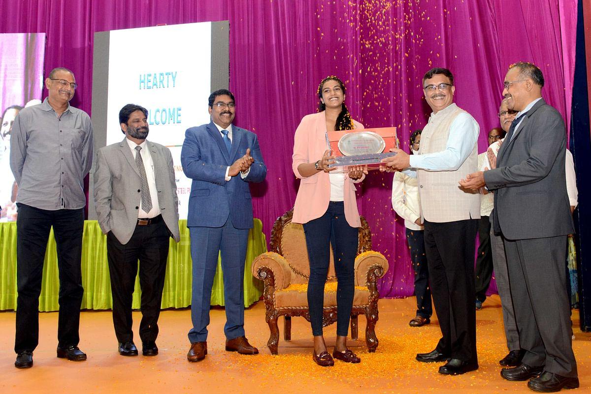 RINL VSP Facilitates Ms PV Sindhu for Success at Tokyo Olympic