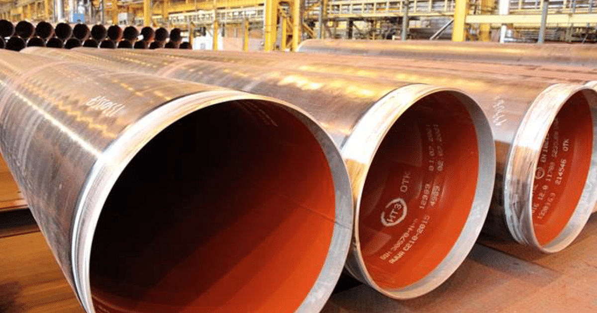 Severstal Delivers Large-Diameter Pipes to Greece