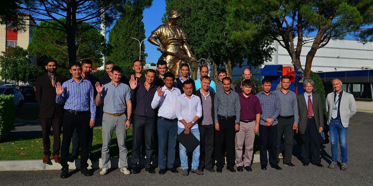 Tashkent Metallurgical Plant Team Trained at Danieli Service