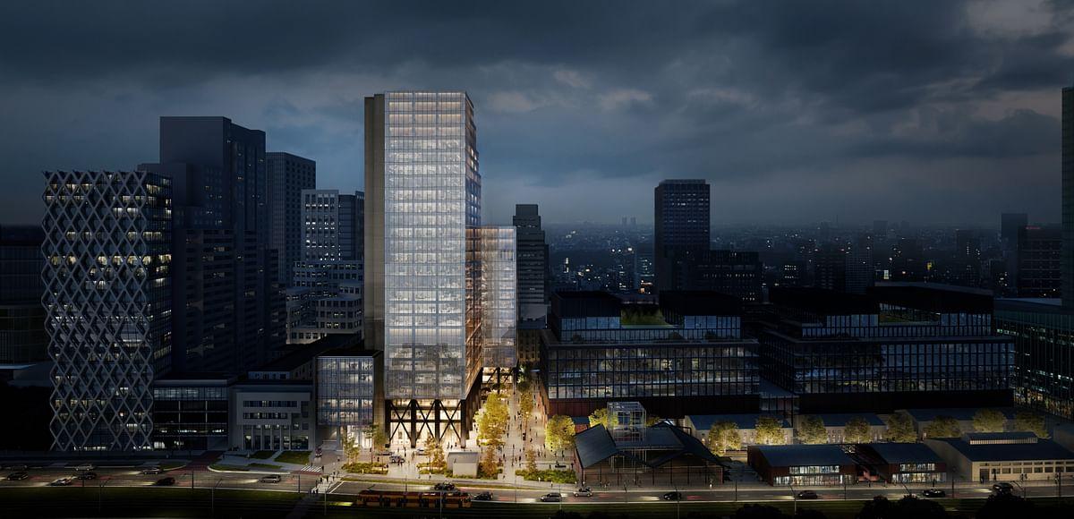 Skanska Invest in in Office Project in Warsaw in Poland