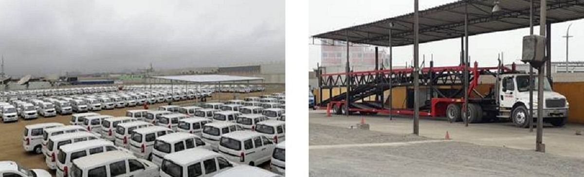 K Line Group Introduces New Total Auto-Logistics Business in Peru