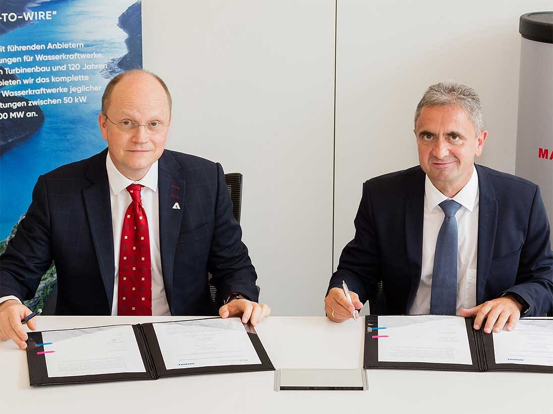 MAN Energy & ANDRITZ Hydro to Develop Hydrogen Business