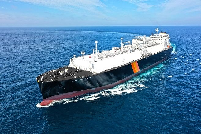 New LNG Carrier Diamond Gas Victoria Delivered