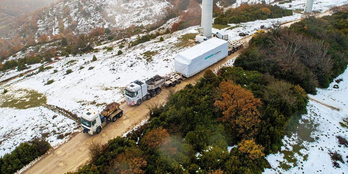 Siemens Gamesa to 5.X Wind Turbines to Swedish Twin Peaks