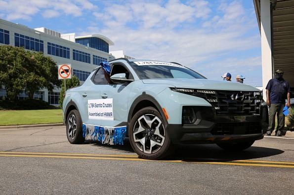 Hyundai Motor Alabama Builds 5 Millionth Vehicle