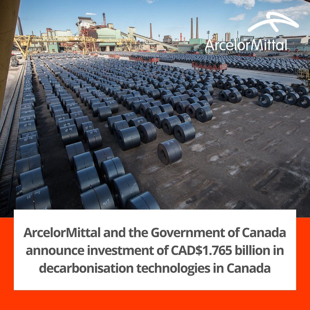 ArcelorMittal to Decarbonise Steel Making in Canada