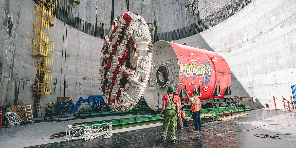 Webuild Excavating Tunnel for Ship Canal Water Project in Seattle