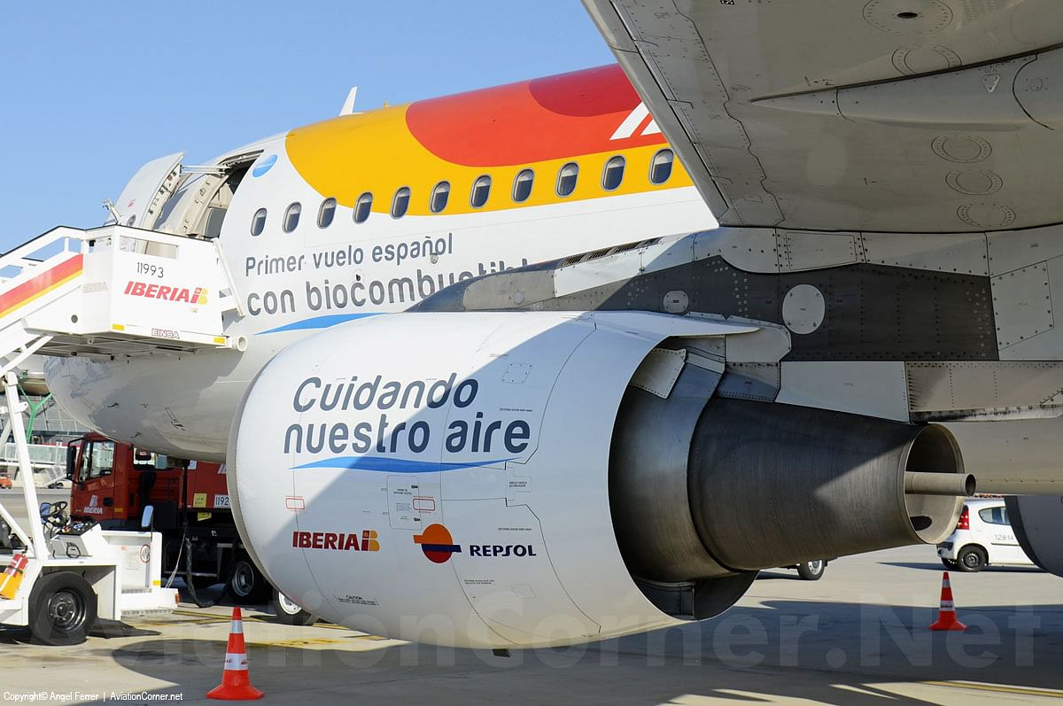 Repsol Produces Spain's First Aviation Biofuel from Waste