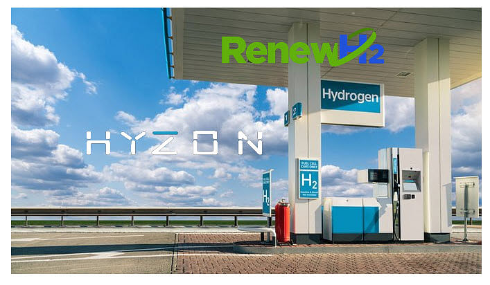 Hyzon & RenewH2 to Develop Hydrogen Fueling Stations in US