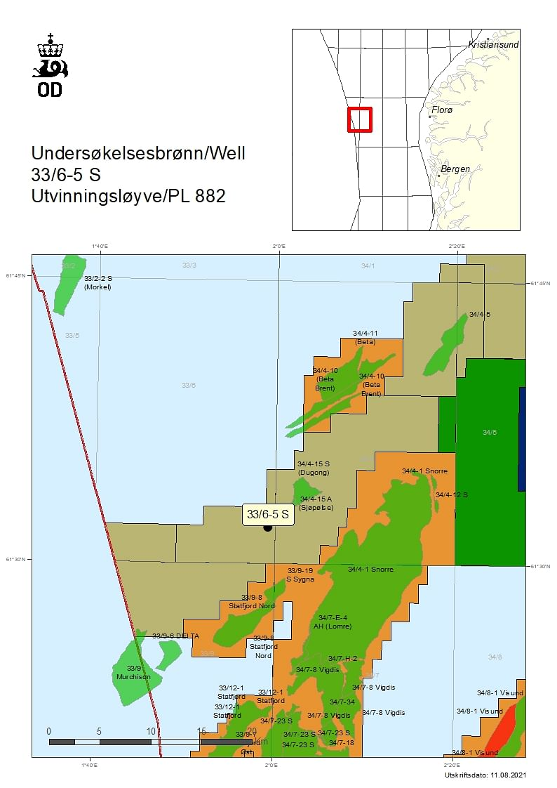 NPD Grants Permit to Neptune Energy Norge for Well in Licence 882