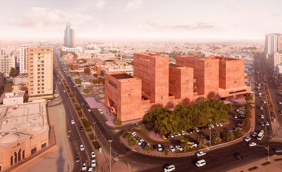 Adjaye Associates Unveils Designs for Rusty-Red Campus in Sharjah