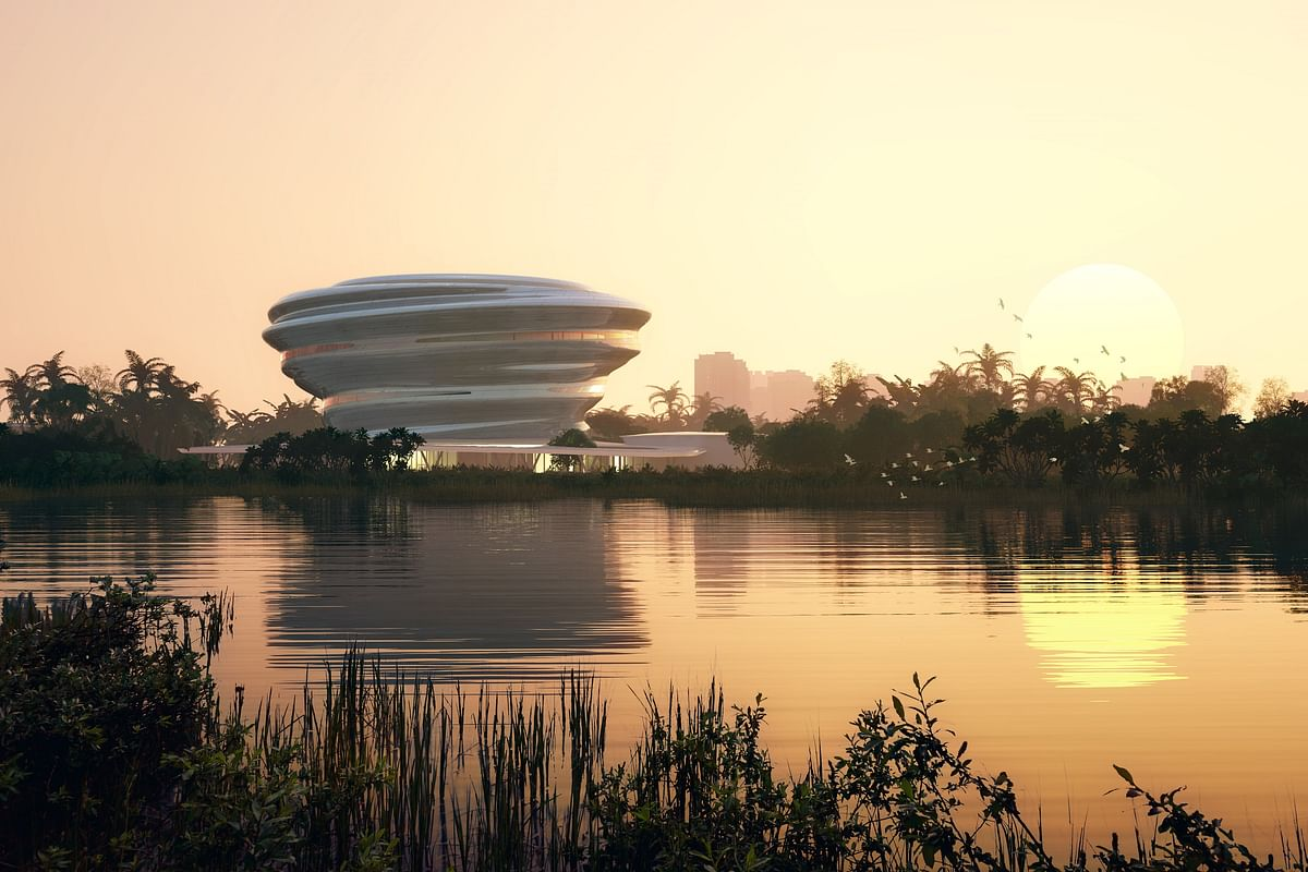 MAD Unveils Design for Hainan Science and Technology Museum
