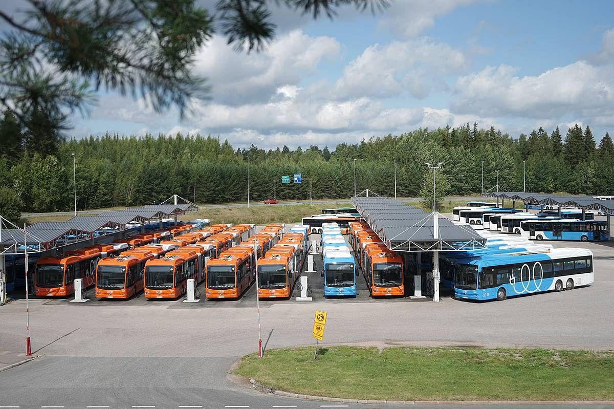 First BYD eBuses Arrive in Helsink in Finland