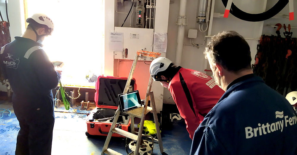 Bureau Veritas Completes Remote In Water Hull Survey by ROV