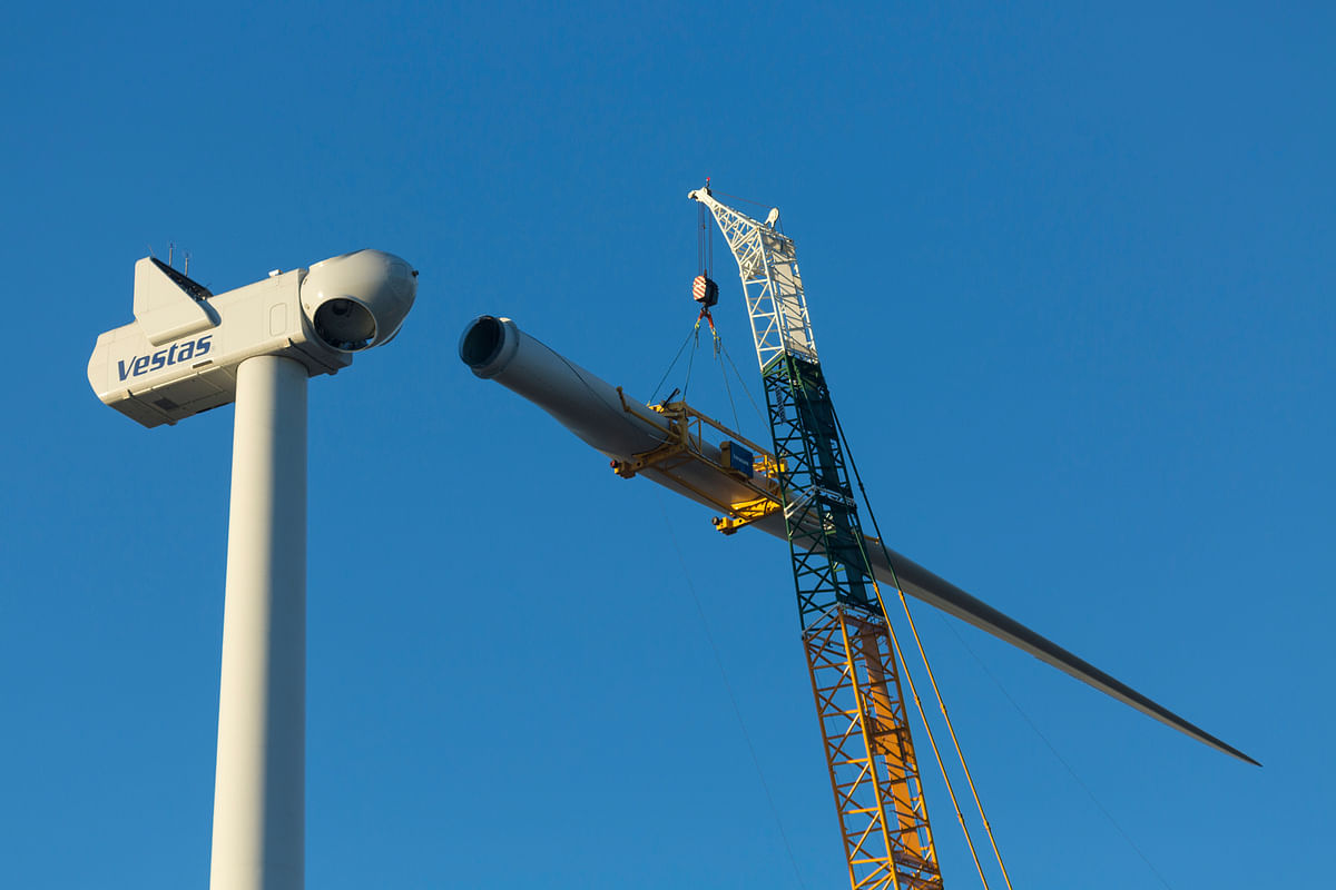 Vestas Bags 58 MW Order for Wind project in Australia