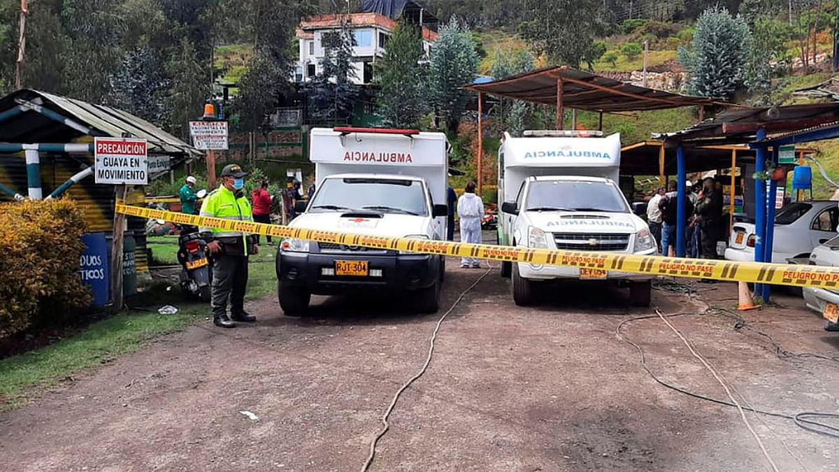 12 Workers Killed in Coal Mine Collapse in Colombia