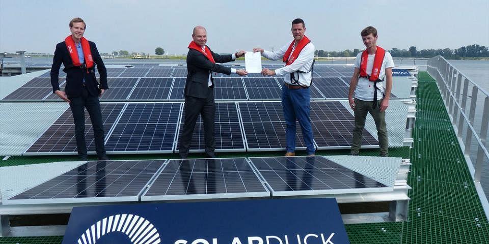 Bureau Veritas Grants AiP for Floating Solar Technology  SolarDuck