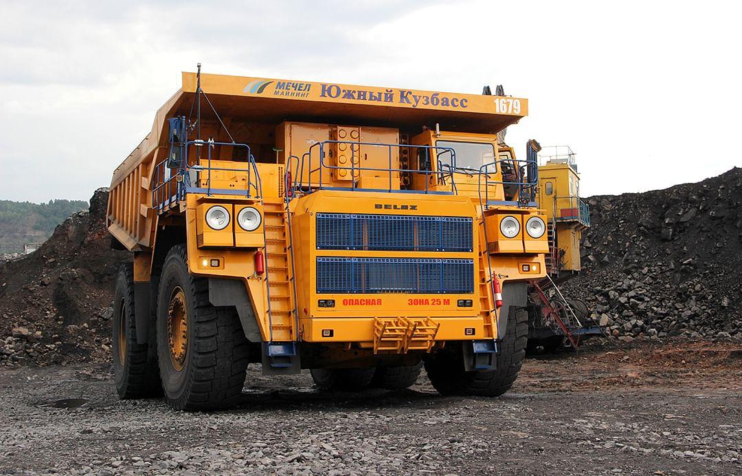 Yuzhny Kuzbass Launches New Dump Trucks