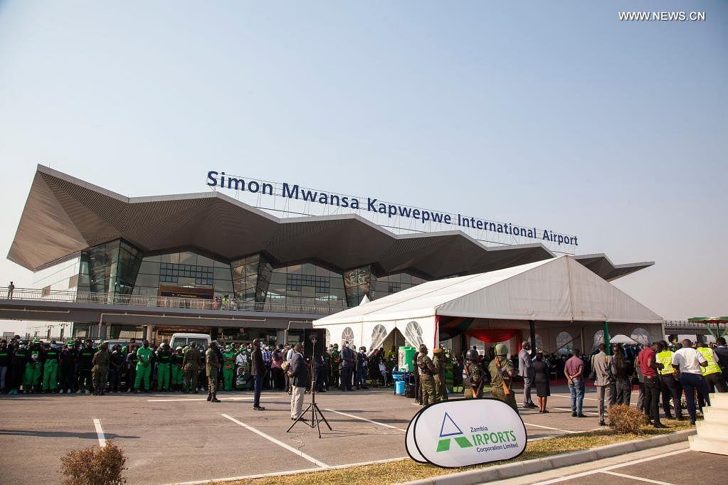 Simon Mwansa Kapwepwe International Airport in Zambia