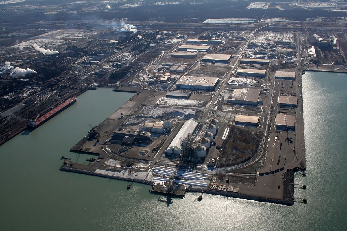 US Steel Restarts Midwest Plant in Portage after Sunday Spill