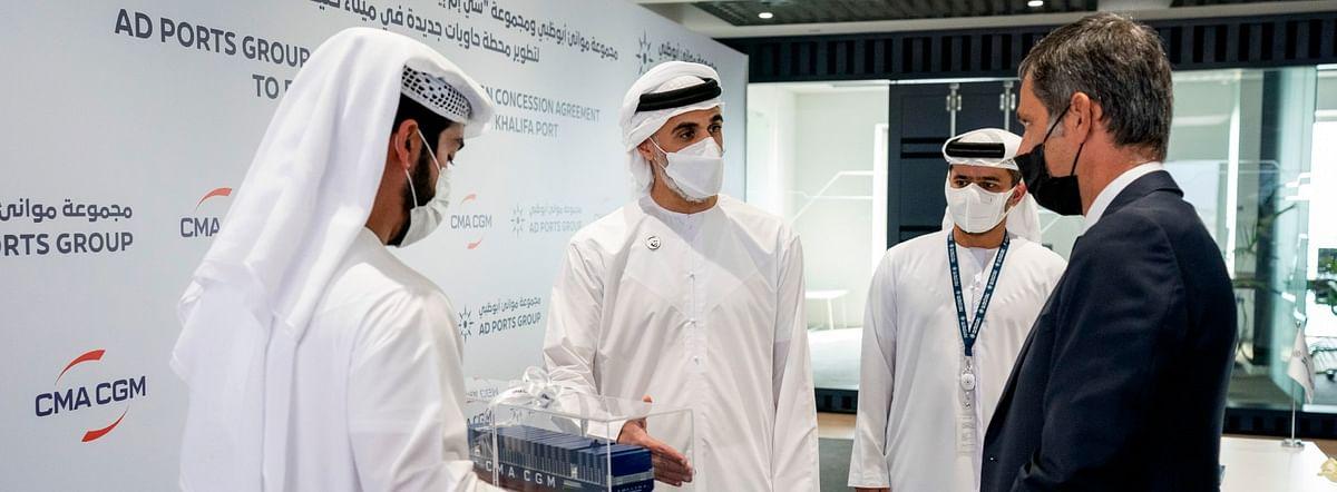 Abu Dhabi Ports & CMA CGM Sign 35-Year Concession Agreement