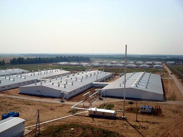 Mechel's I Beams Used in Construction of Dairy Farm in Tatarstan