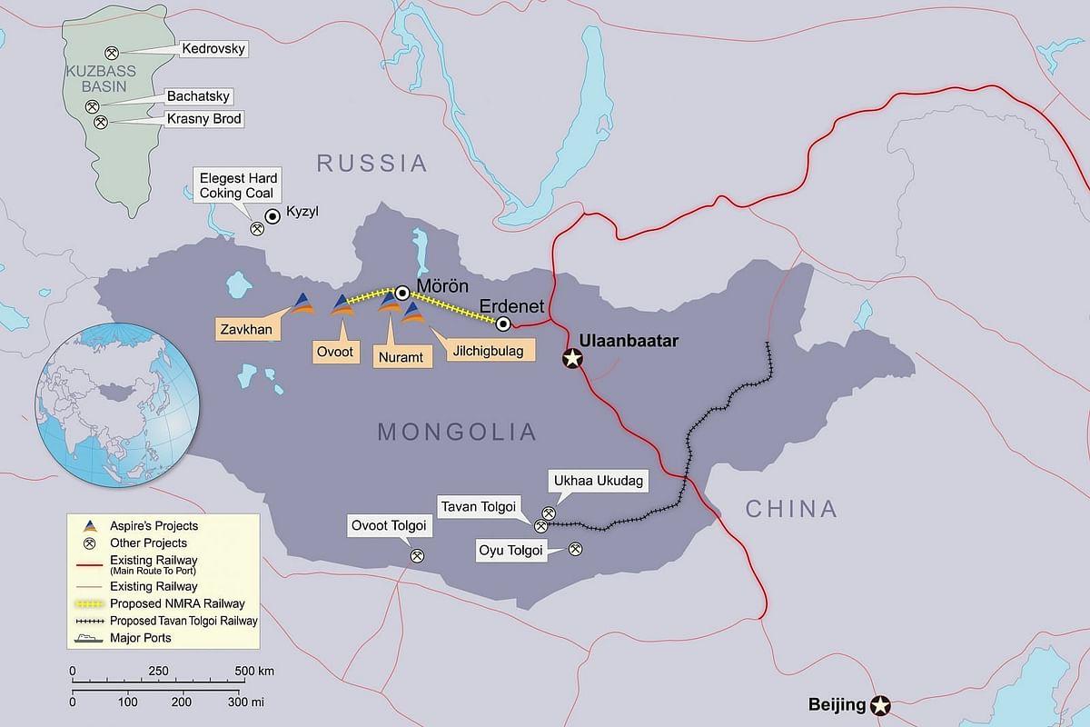 Aspire Mining Update on Erdenet Rail Terminal