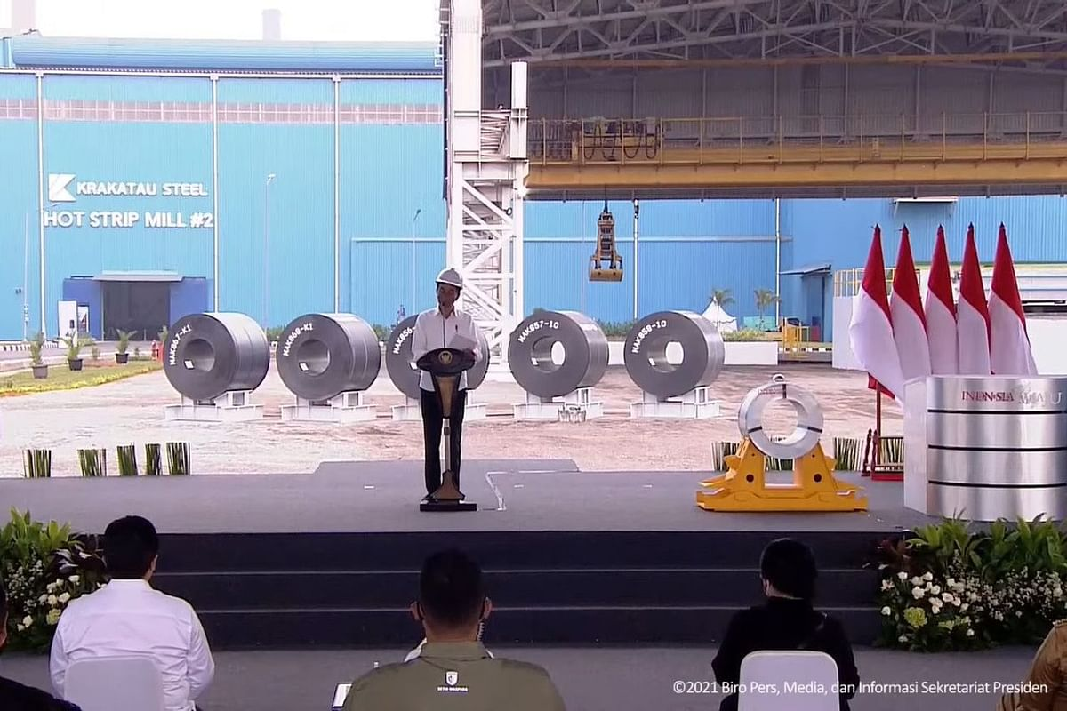 PT Krakatau Steel Inaugurates New Hot Strip Mill in Indonesia