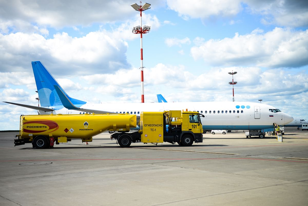 Rosneft Aero to Develop Fuel Supply System at Krasnoyarsk Airport