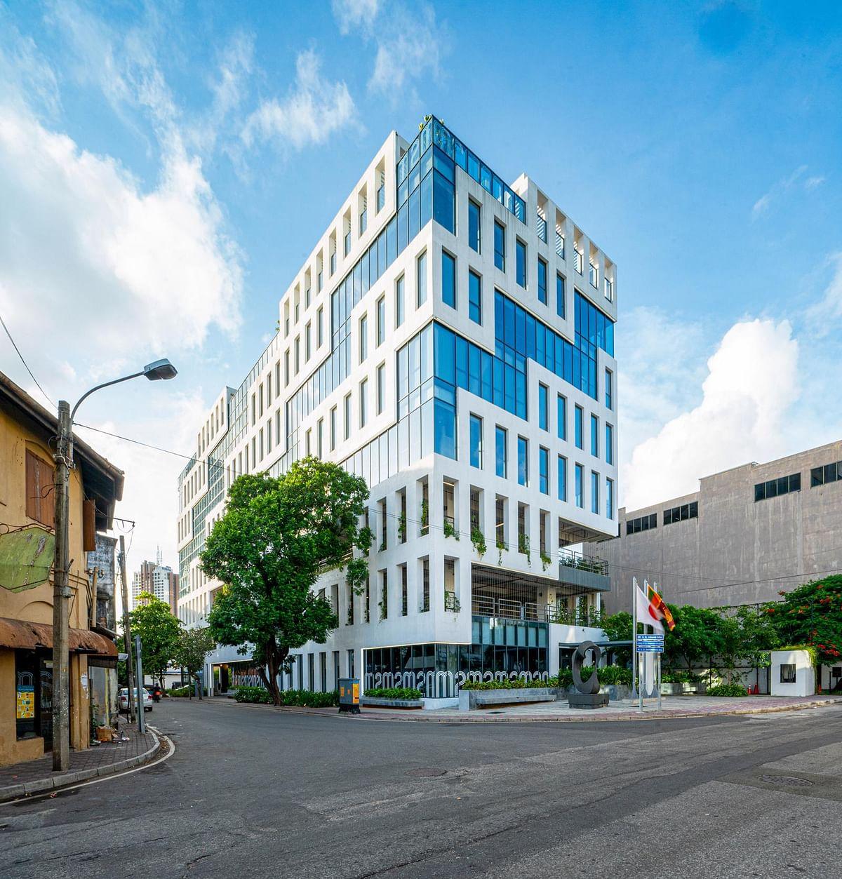 MVRDV & Partners Complete Veranda Offices in Colombo in Sri Lanka