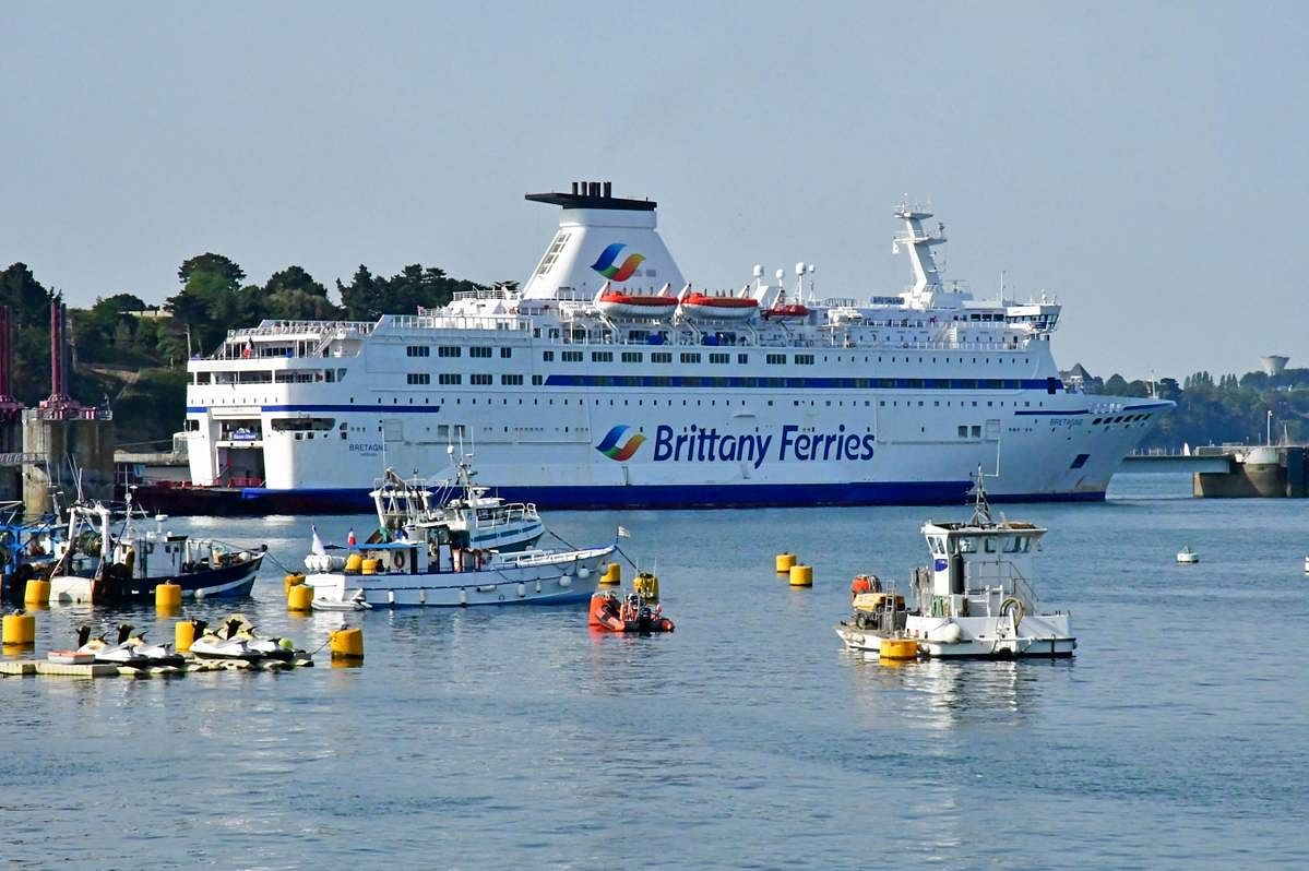 CMA CGM to Support Recovery of Brittany Ferries in France