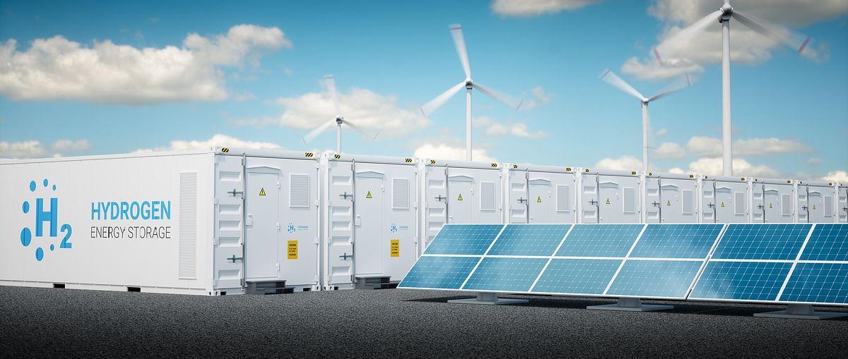 Schlumberger & EnerVenue Metal Hydrogen Stationary Energy Storage