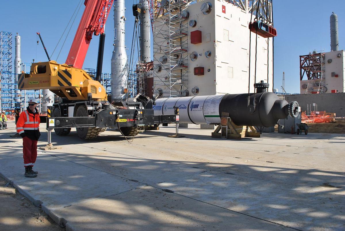 Linde Severstal Ships Third SVTO Heat Exchanger for Amur GPP